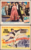 """Movie Posters:Musical, The Barkleys of Broadway (MGM, 1949). Overall: Fine+. Title Card & Lobby Card (11"""" X 14""""). Musical.. ... (Total: 2 Items)"""