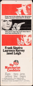 """Movie Posters:Thriller, The Manchurian Candidate (United Artists, 1962). Folded, Fine. Insert (14"""" X 36""""). Thriller.. ..."""