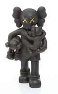 Collectible, KAWS (b. 1974). Clean Slate (Black), 2018. Painted cast vinyl. 14 x 8 x 8 inches (35.6 x 20.3 x 20.3 cm). Open Edition. ...