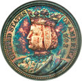 1893 25C Isabella Quarter MS63 NGC. CAC. NGC Census: (791/1645). PCGS Population: (1294/2149). MS63. Mintage 24,214...