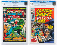 Captain America #136 and 147 CGC-Graded Group (Marvel, 1971-72) Condition: NM 9.4.... (Total: 2)