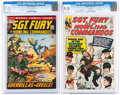 Silver Age (1956-1969):War, Sgt. Fury and His Howling Commandos #12 and 99 CGC-Graded Group (Marvel, 1964-72).... (Total: 2 Comic Books)