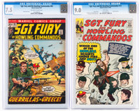Sgt. Fury and His Howling Commandos #12 and 99 CGC-Graded Group (Marvel, 1964-72).... (Total: 2 Comic Books)