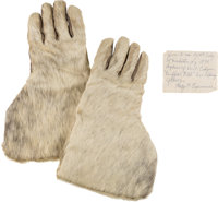 "William F. ""Buffalo Bill"" Cody: His Personal Antelope Hide Gauntlets"