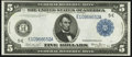 Large Size:Federal Reserve Notes, Fr. 861 $5 1914 Federal Reserve Note Extremely Fine.. ...