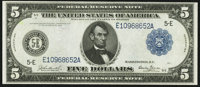 Fr. 861 $5 1914 Federal Reserve Note Extremely Fine