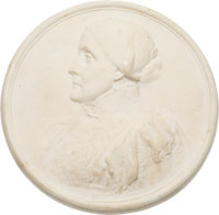 Woman's Suffrage: Plaster Plaque of Susan B. Anthony