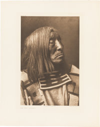 Edward S. Curtis: Male Portrait Photogravures.... (Total: 3 Items)