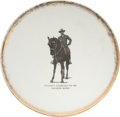Political:3D & Other Display (1896-present), Theodore Roosevelt: Presidential Portrait Plate....