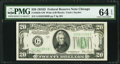 Small Size:Federal Reserve Notes, Fr. 2058-G $20 1934D Wide Federal Reserve Note. PMG Choice Uncirculated 64 EPQ.. ...