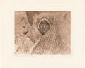 Photography:Studio Portraits, Edward S. Curtis: Female Portrait Photogravures.... (Total: 9 Items)