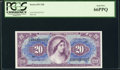 Military Payment Certificates:Series 691, Series 691 $20 First Printing PCGS Gem New 66PPQ.. ...