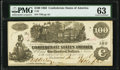 T39 $100 1862 PF-5 Cr. 290 PMG Choice Uncirculated 63