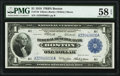 Fr. 710 $1 1918 Federal Reserve Bank Note PMG Choice About Unc 58 EPQ