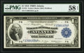 Fr. 725 $1 1918 Federal Reserve Bank Note PMG Choice About Unc 58 EPQ
