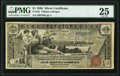Large Size:Silver Certificates, Fr. 224 $1 1896 Silver Certificate PMG Very Fine 25.. ...