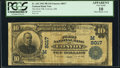 National Bank Notes:Ohio, Convoy, OH - $10 1902 Plain Back Fr. 625 The First National Bank Ch. # (M)8017 PCGS Apparent Very Good 10.. ...