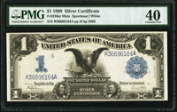 Fr. 236 $1 1899 Mule Silver Certificate PMG Extremely Fine 40