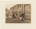 Photography:Studio Portraits, Edward S. Curtis: Fishing and Food Gathering Photogravures.... (Total: 5 Items)