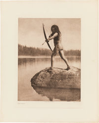 Edward S. Curtis: Fishing and Food Gathering Photogravures.... (Total: 6 Items)