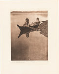 Photography:Studio Portraits, Edward S. Curtis: Fishing Photogravures.... (Total: 7 Items)