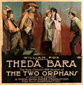 Movie Posters:Drama, The Two Orphans (Fox, R-1918). Fine+ on Linen. Six...
