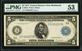 Fr. 863a $5 1914 Federal Reserve Note PMG About Uncirculated 53