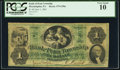 Philadelphia, PA- Bank of Penn Township $1 June 1, 1861 G50a PCGS Very Good 10