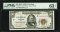 Fr. 1880-D $50 1929 Federal Reserve Bank Note. PMG Choice Uncirculated 63 EPQ