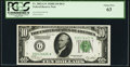 Fr. 2002-G* $10 1928B Dark Green Seal Federal Reserve Star Note. PCGS Choice New 63