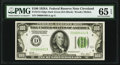 Small Size:Federal Reserve Notes, Fr. 2151-D $100 1928A Dark Green Seal Federal Reserve Note. PMG Gem Uncirculated 65 EPQ.. ...