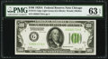 Small Size:Federal Reserve Notes, Fr. 2151-G $100 1928A Light Green Seal Federal Reserve Note. PMG Choice Uncirculated 63 EPQ.. ...