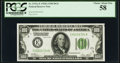 Small Size:Federal Reserve Notes, Fr. 2151-E $100 1928A Federal Reserve Note. PCGS Choice About New 58.. ...