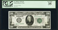 Small Size:Federal Reserve Notes, Fr. 2050-K $20 1928 Federal Reserve Note. PCGS Very Fine 35.. ...