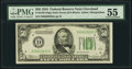 Small Size:Federal Reserve Notes, Fr. 2102-D $50 1934 Dark Green Seal Federal Reserve Note. PMG About Uncirculated 55.. ...