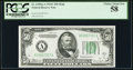 Fr. 2105-A $50 1934C Federal Reserve Note. PCGS Choice About New 58