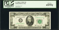 Small Size:Federal Reserve Notes, Fr. 2064-G $20 1950E Federal Reserve Note. PCGS Gem New 65PPQ.. ...