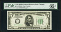 Small Size:Federal Reserve Notes, Fr. 1960-G $5 1934D Federal Reserve Note. PMG Gem Uncirculated 65 EPQ.. ...