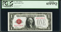 Fr. 1500 $1 1928 Legal Tender Note. PCGS Gem New 65PPQ
