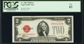 Small Size:Legal Tender Notes, Fr. 1506 $2 1928E Legal Tender Note. PCGS New 62.. ...