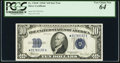Small Size:Silver Certificates, Fr. 1704* $10 1934C Silver Certificate Star. PCGS Very Choice New 64.. ...