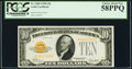 Fr. 2400 $10 1928 Gold Certificate. PCGS Choice About New 58PPQ