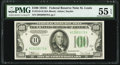 Small Size:Federal Reserve Notes, Fr. 2155-H $100 1934C Federal Reserve Note. PMG About Uncirculated 55 EPQ.. ...