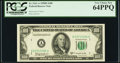 Fr. 2161-A $100 1950D Federal Reserve Note. PCGS Very Choice New 64PPQ