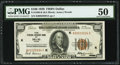 Fr. 1890-K $100 1929 Federal Reserve Bank Note. PMG About Uncirculated 50
