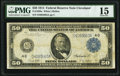 Fr. 1039a $50 1914 Federal Reserve Note PMG Choice Fine 15