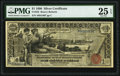 Large Size:Silver Certificates, Fr. 225 $1 1896 Silver Certificate PMG Very Fine 25 EPQ.. ...