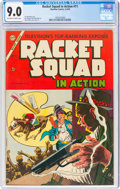 Golden Age (1938-1955):Crime, Racket Squad in Action #11 (Charlton, 1954) CGC VF/NM 9.0 Off-white to white pages....