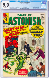 Tales to Astonish #50 (Marvel, 1963) CGC VF/NM 9.0 White pages