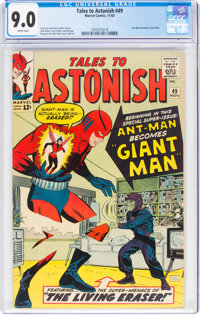 Tales to Astonish #49 (Marvel, 1963) CGC VF/NM 9.0 White pages